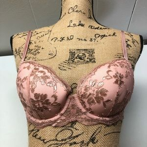 Victoria secret nwot bra rose gold